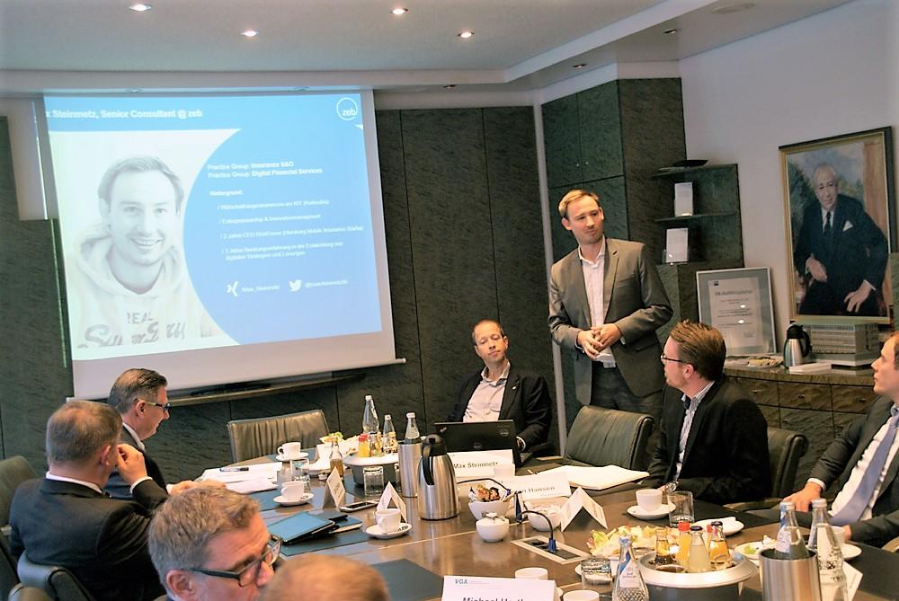 Referent Max Steinmetz erläuterte das umfangreiche Thema mit Hilfe von zahlreichen Beispielen (Foto: Rüdiger Beck)