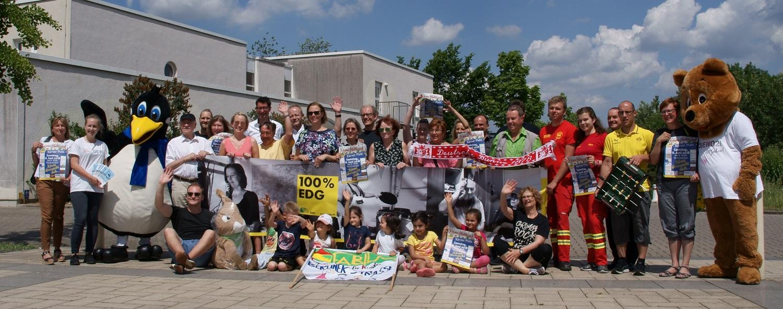 """Standbetreiber und Organisatoren der beliebten Familienveranstaltung freuen sich auf das 10. """"Körne blüht auf"""" (Foto: Rüdiger Beck)"""