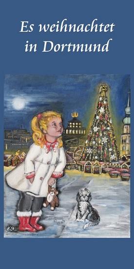 """Weihnachtskarte """"Es weihnachtet in Dortmund"""""""